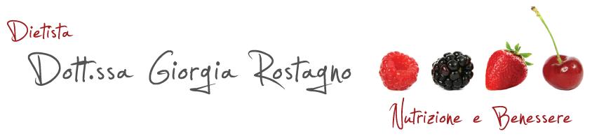 Logo Dott.ssa Giorgia Rostagno Dietista
